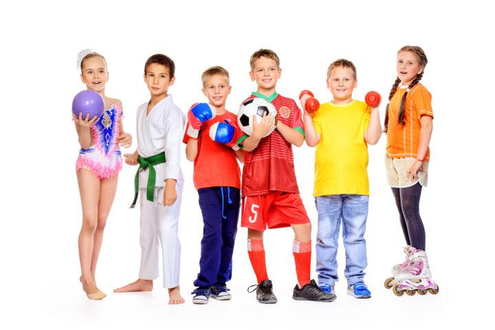 Attività fisica durante l'infanzia e l'adolescenza